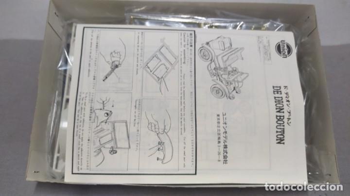 Maquetas: De Dion Bouton 1904 escala 1/16 de Union made in Japan. Nuevo y completo.bolsas precintadas - Foto 3 - 277452863