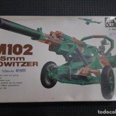 Maquetas: MAQUETA AFV.M102 HOWITZER. Lote 277534733