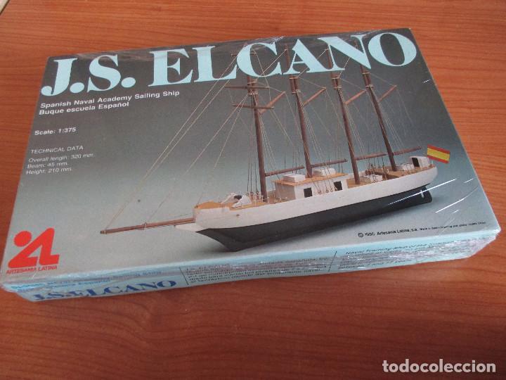 ARTESANIA LATINA: MAQUETA BARCO J.S ELCANO (Juguetes - Modelismo y Radiocontrol - Maquetas - Barcos)