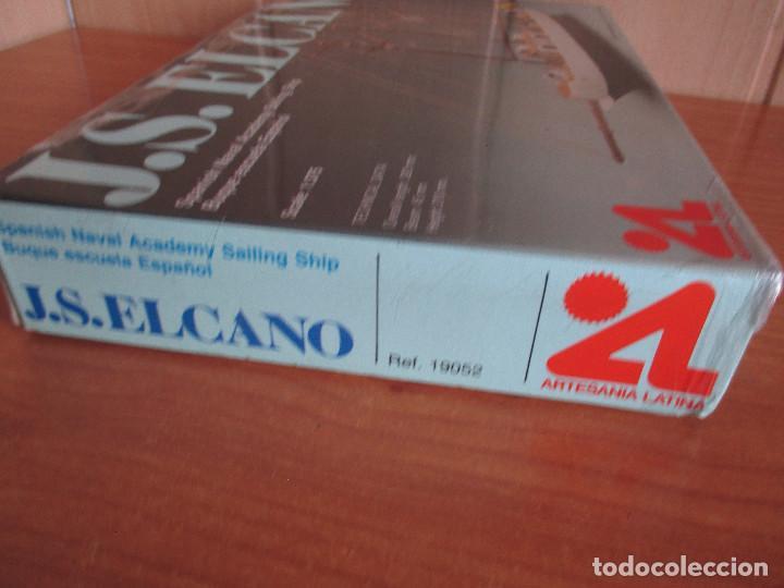 Maquetas: ARTESANIA LATINA: MAQUETA BARCO J.S ELCANO - Foto 2 - 277536073