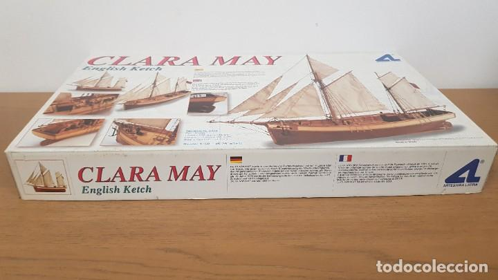 Maquetas: Maqueta barco en madera clara may english ketch escala 1:50 ref 20405 del 2002 artesania latina - Foto 2 - 277552248