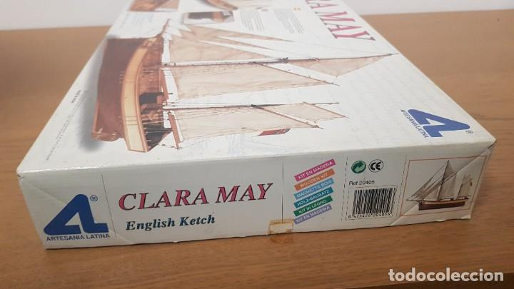 Maquetas: Maqueta barco en madera clara may english ketch escala 1:50 ref 20405 del 2002 artesania latina - Foto 3 - 277552248