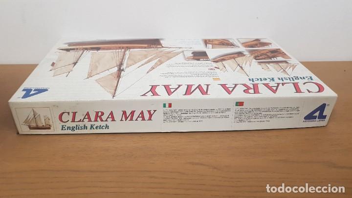 Maquetas: Maqueta barco en madera clara may english ketch escala 1:50 ref 20405 del 2002 artesania latina - Foto 4 - 277552248