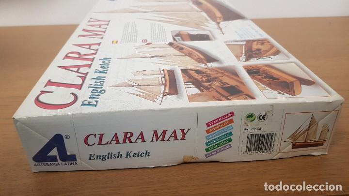 Maquetas: Maqueta barco en madera clara may english ketch escala 1:50 ref 20405 del 2002 artesania latina - Foto 5 - 277552248