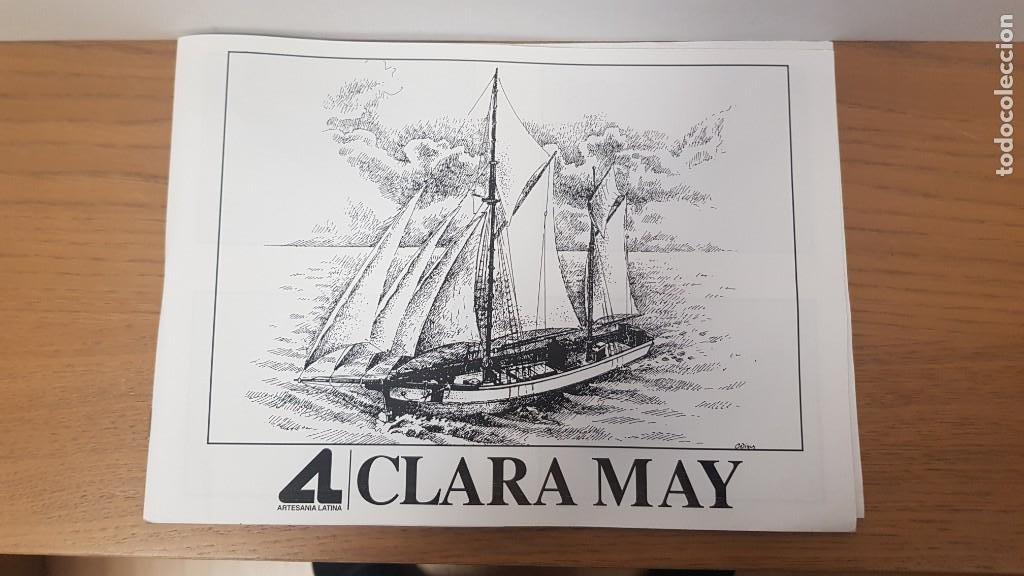 Maquetas: Maqueta barco en madera clara may english ketch escala 1:50 ref 20405 del 2002 artesania latina - Foto 7 - 277552248