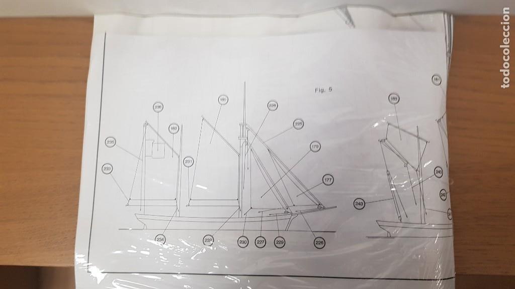 Maquetas: Maqueta barco en madera clara may english ketch escala 1:50 ref 20405 del 2002 artesania latina - Foto 9 - 277552248