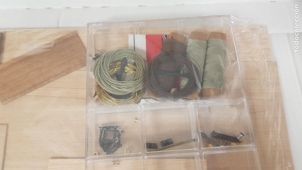 Maquetas: Maqueta barco en madera clara may english ketch escala 1:50 ref 20405 del 2002 artesania latina - Foto 16 - 277552248