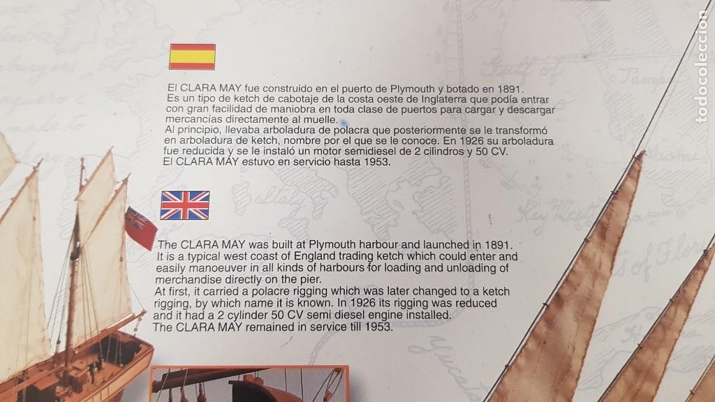 Maquetas: Maqueta barco en madera clara may english ketch escala 1:50 ref 20405 del 2002 artesania latina - Foto 20 - 277552248