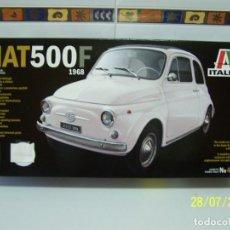 Maquetas: FIAT 500F 1968 1/12 ITALERI. Lote 277748063