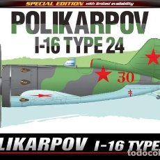 Maquetas: ACADEMY 12314 # 1:48 POLIKARPOV I-16 TYPE 24 LIM. ED.. Lote 278522353