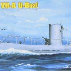 Maquetas: MAQUETA SUBMARINO U-BOAT TIPO VII-A, REF. 83503, 1/350, HOBBY BOSS. Lote 278631923