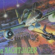 Maquetas: MAQUETA AVIÓN MESSERSCHMITT ME-262, A-1A, NACHTJÄGER, REF. 5515, 1/48, DRAGÓN. Lote 278632778