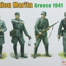 Maquetas: MAQUETA FIGURAS ALEMANAS, GRECIA 1941, OPERACIÓN MARITA, REF. 6783, 1/35, DRAGÓN. Lote 278839563