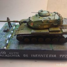Maquetas: MAQUETA-DIORAMA- M 60 A3 TTS- ACADEMIA DE INFANTERIA 1993. Lote 278930963