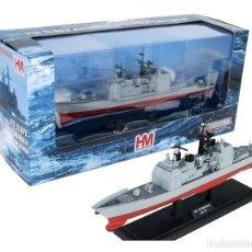 Maquetas: MAQUETA METÁLICA MONTADA DEL USS TICONDEROGA. 1:700 . A ESTRENAR.. Lote 278933868