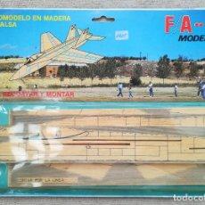 Maquetas: AVIÓN FA - 18 - AEROMODELISMO, MADERA DE BALSA - MODELHOB - RECORTAR Y MONTAR - EN BLISTER - PJRB. Lote 279345738