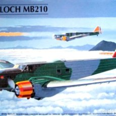 Maquetas: MARCEL BLOCH MB.210 (GUERRA CIVIL) 1/72 HELLER. Lote 279380133
