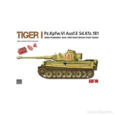 Maquetas: RFM 5001U # TIGER I INITIAL PRODUCTION EARLY 1943 1:35. Lote 249347570