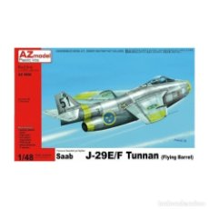 Maquetas: AZ MODEL 4866 # SAAB J-29E/ F TUNNAN 1:48. Lote 268781969