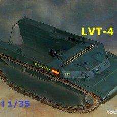 Maquetas: LVT-4 INFANTERÍA DE MARINA, 1/35 ITALERI. Lote 281918178