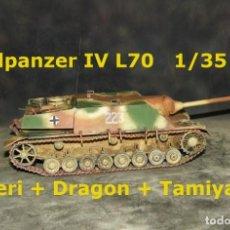 Maquetas: JAGDPANZER IV L-70 (LANG), 1/35. Lote 281919163