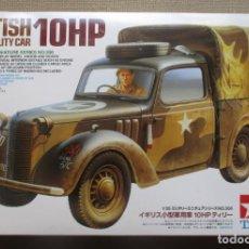 Maquetas: BRITISH LIGHT UTILITY CAR 10 HP -TAMIYA ESCALA 1:35- NUEVO, EN SUS BOLSAS.. Lote 283142398