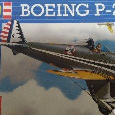 Maquetas: BOEING P-26 A ( PEASHOOTER ). MAQUETA DE AVIÓN MARCA REVELL ESCALA 1/72.. Lote 283464378