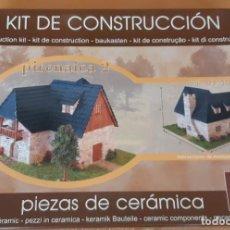 Macchiette: KIT CONSTRUCCIÓN CASA PIRENAICA DE CUIT. Lote 283714053