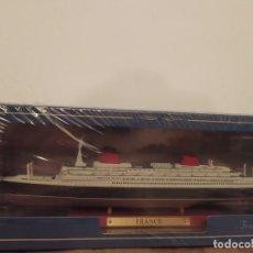 Maquetas: TRANSATLÁNTICO SS FRANCE, FRANCIA, 1962, 1:1250, ATLAS. Lote 283723218