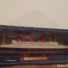 Maquetas: TRANSATLÁNTICO RMS QUEEN MARY, GRAN BRETAÑA, 1936, 1:1250,. Lote 283723243