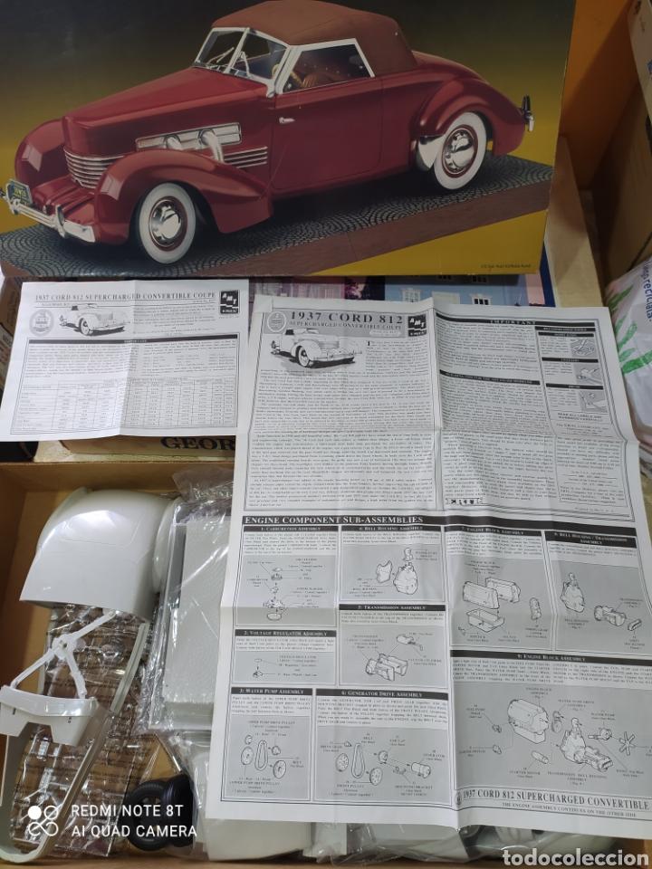 Maquetas: Maqueta coche 1937 cord 812 s/c 1/12 amt / ertl - Foto 3 - 236240810