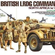 Maquetas: TAMIYA 32407 # BRITISH LRDG COMMAND CAR. Lote 255948480