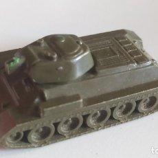 Maquetas: ANTIGUO TANQUE INCOMPLETO T-34. EKO ESCALA H.0. AÑOS 60. Lote 285810078