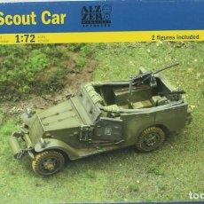 Maquetas: MAQUETA VEHÍCULO BLINDADO M3A1, SCOUT CAR, REF. 7063, 1/72, ITALERI.. Lote 286375383