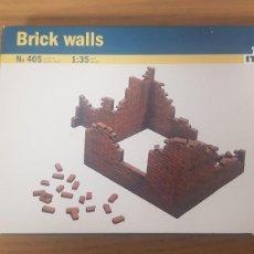 Maquetas: CAJA DE MURO DERRIBADO O BRICK WALLS REF 405 ESCALA 1:35 ITALERI. Lote 286741718