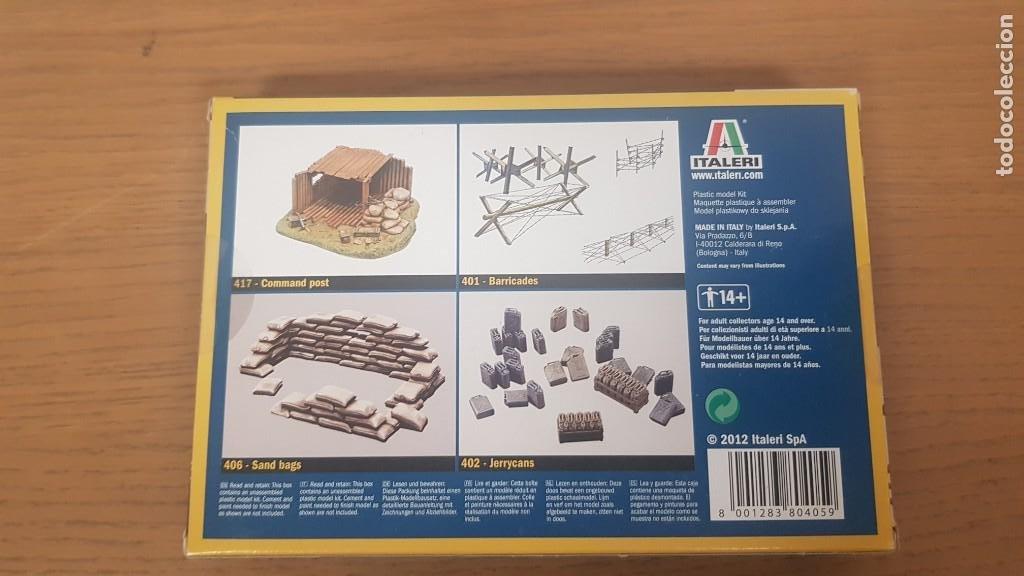 Maquetas: Caja de muro derribado o brick walls ref 405 escala 1:35 italeri - Foto 2 - 286741718