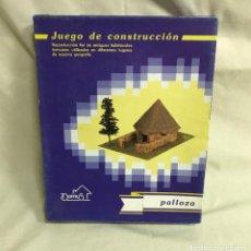 Maquetas: PALLOZA JUEGO DE CONSTRUCCIÓN. MAQUETA A ESCALA. A ESTRENAR. Lote 287368533