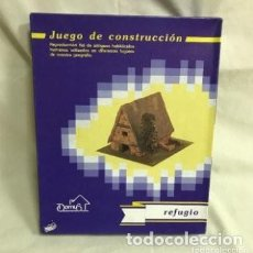 Maquetas: REFUGIO JUEGO DE CONSTRUCCIÓN. MAQUETA A ESCALA. A ESTRENAR. Lote 287368833