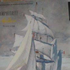 Maquetas: AMPHITRITE (VELERO) - HELLER-RICO (1/150). Lote 287734908