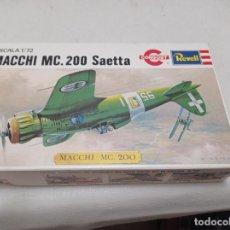 Maquetas: REVELL - MACCHI MC.200 SAETA 1/72 H657. Lote 287774553