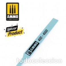 Maquetas: AMMO - SANDING STICKS POLISGING 400-4000 AMIG8566. Lote 288095263