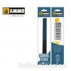 Maquetas: AMMO - SANDING STICKS STANDARD 4 TIPOS DE GRANO AMIG8563. Lote 288096553