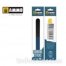 Maquetas: AMMO - SANDING STICKS MULTIPURPOSE 6 TIPOS DISTINTOS DE LIJA AMIG 8564. Lote 288097198