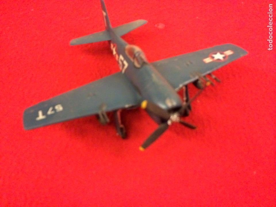 GRUMMAN F8F-2 . USA (Juguetes - Modelismo y Radio Control - Maquetas - Aviones y Helicópteros)