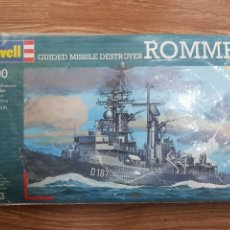 Maquetas: MAQUETA BARCO. REVELL. 1:700. GUIDED MISSILE DESTROYER ROMMEL. Lote 288203538
