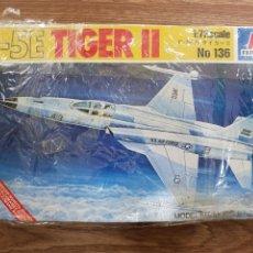 Maquetas: MAQUETA AVION . ITALERI . 1:72. F-5E TIGER II. Lote 288203993