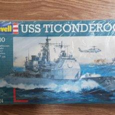 Maquetas: MAQUETA BARCO . REVELL . 1:700. USS TICONDEROGA. Lote 288213553