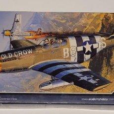 Maquetas: ACADEMY HOBBY MODEL KITS- AVIÓN THE FIGHTER OF WORLD WAR II P-51B CON LA REFERENCIA 12464, 1/72. Lote 288564833