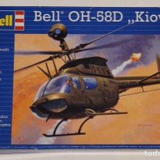 Maquetas: REVELL- AVIÓN BELL OH-58D KIOWA CON LA REFERENCIA 04938, ESCALA 1/72. Lote 288565193