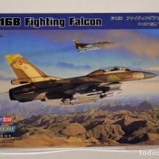 Maquetas: HOBBY BOSS- AVIÓN F-16B FIGHTING FALCON CON LA REFERENCIA 80273, ESCALA 1/72. Lote 288565758